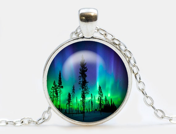northern lights pendant northern lights trees by