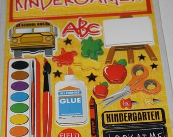 Making the Grade- Kindergarten Stickers