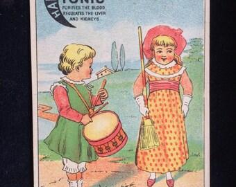 1883 Antique Trade Card