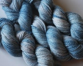 "OxfordKitchenYarns 100% British Bluefaced Leicester ""Cloudy Day"" Aran or Worsted Yarn"