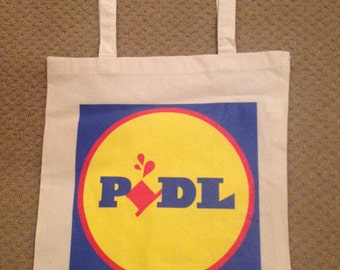 Completely original Lidl 'Pidl' bag 100% eco-cotton. Very cool!
