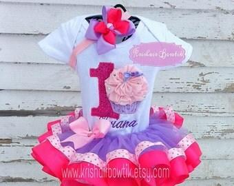 cupcake tutu-cup cake tutu-baby tutu-