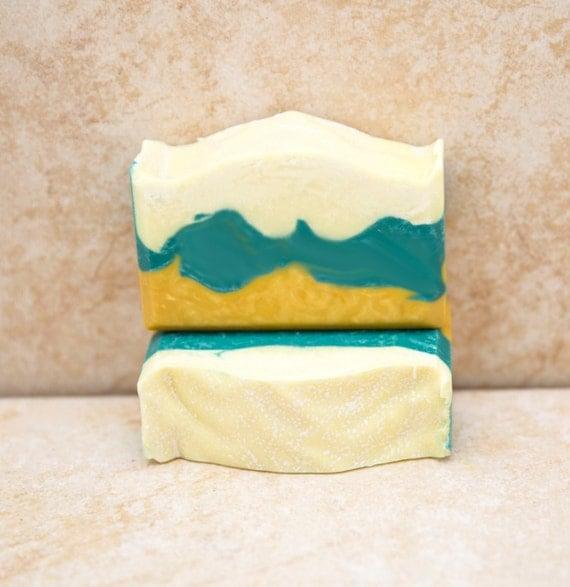 Beach soap handmade soap organic soap bobbi brown type soap for Bobbi brown beach soap
