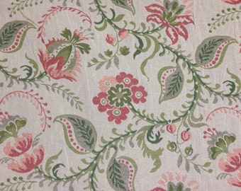 Jacobean Fabric - Upholstery Fabric By The Yard