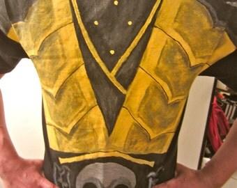Hand painted  Scorpion  T-Shirt
