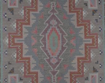 Navajo rug, Old Style Crystal rug, Wool rugs, native American rug, Navajo Weaving, Handwoven Navajo Textiles,Woven Rug, # 594