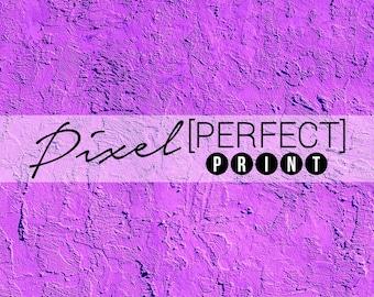 """EXCLUSIVE - 4ft x 4ft """"Purple Mess"""" Vinyl Backdrop // Vinyl Backdrops // Photography Backdrop // Concrete, Rock, Purple Backdrop (PP017)"""