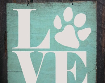 paw print sign, paw print decor, paw prints, dog paw print, dog sign, dog decor, dog decoration, dog gift, gift for dog owner, 49
