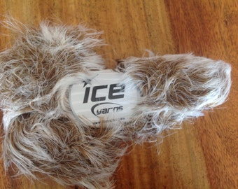 Faux fur smooth fur soft fur yarn ice yarn