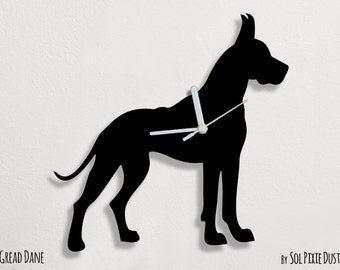 Standard Schnauzer Dog Wall Clock By Solpixiedust On Etsy