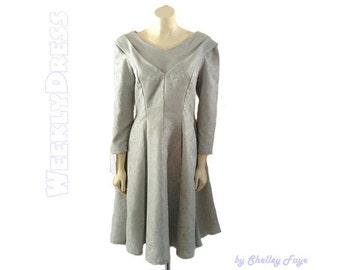 Seafoam Green Vintage Reproduction Dress