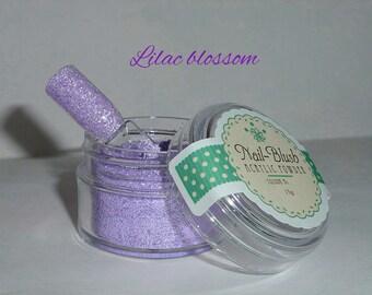 Acrylic nail powder Lilac Blossom 15g by Nail-Blush