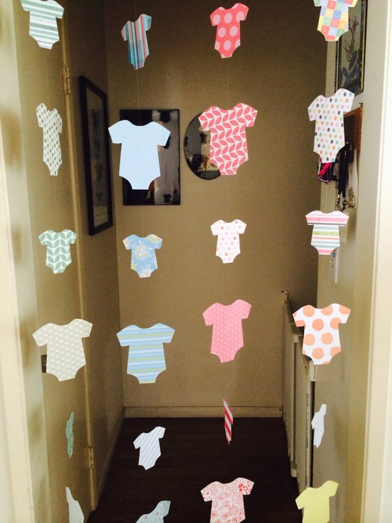 Items Similar To Baby Shower Decoration - Welcome Home Baby Decoration - Onesie -5536