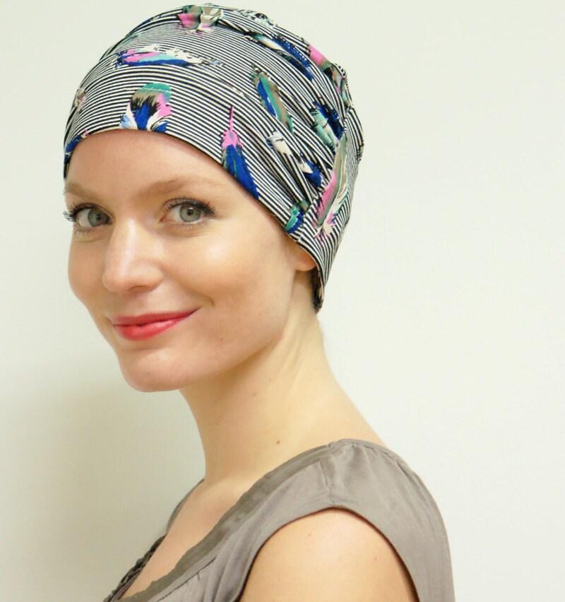 womens chemo hat for cancer hair loss handmade stylish