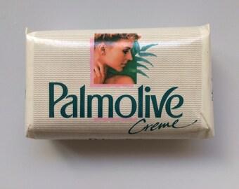 Vintage Italy Soap Bar Palmolive Creme