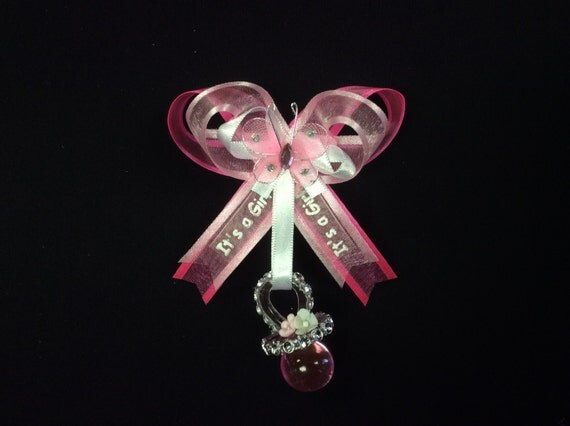 baby shower guest pin corsage capia baby by professionalglasseng