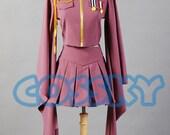 Vocaloid Senbon Sakuras Zakura Miku Cosplay Uniform Dress Costume