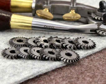 Pricking Wheels for Stitching Leather Vergez Blanchard. Wheels Only/Spacing Wheels/Sewing Spacer/Tracing Wheels/Leather Marking Tool