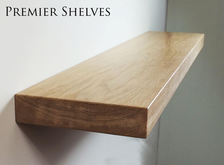 solid oak floating shelves mantel beam 10 x 2 5. Black Bedroom Furniture Sets. Home Design Ideas