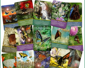 The Butterfly Visions Oracle Card Deck