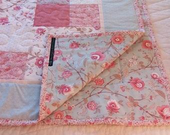 Handmade Floral Quilt