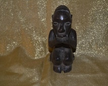 Old African Statue