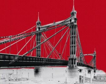 Albert bridge - Prints