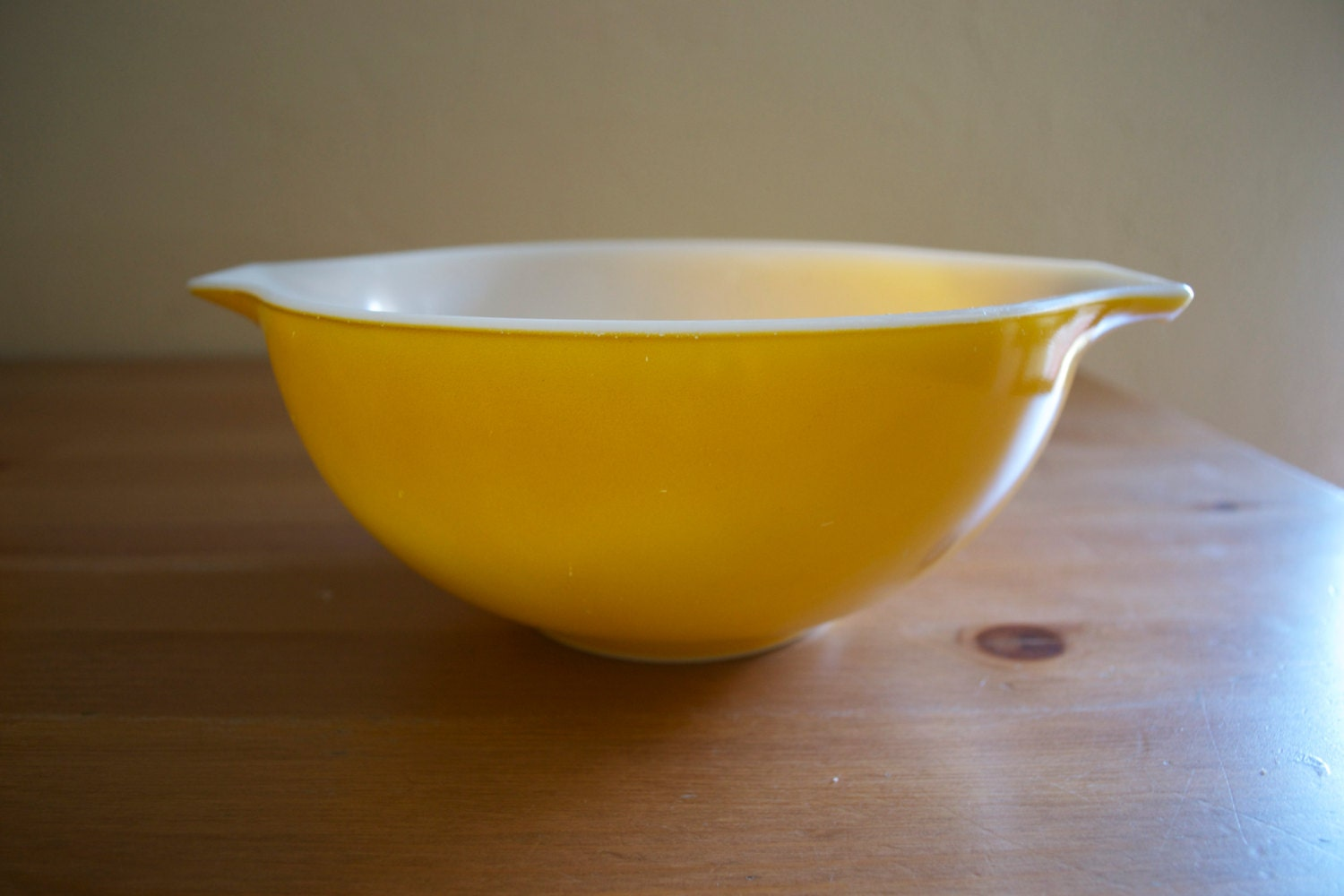 Vintage Pyrex Yellow Daisy Cinderella Mixing Bowl by ...