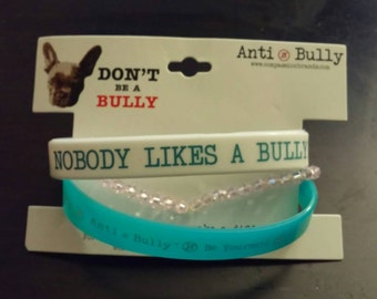 Beaded Anti-Bully Wristbands