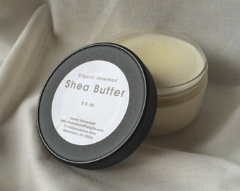 Organic Shea Butter (8 oz) - Unrefined