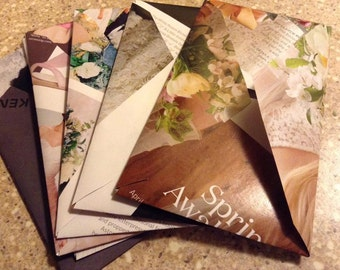 5 Custom recycled envelopes.