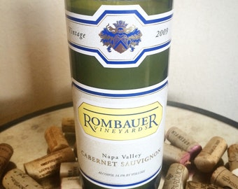 Rombauer Wine Bottle Candles