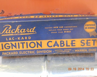 Packard lac-kard ignition cable set