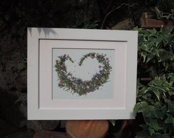 Rosemary Framed Pressed Flowers