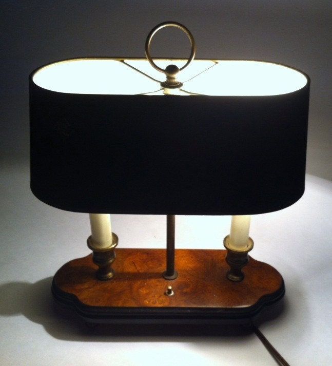 vintage knob creek table lamp desk lamp lamp office lamp