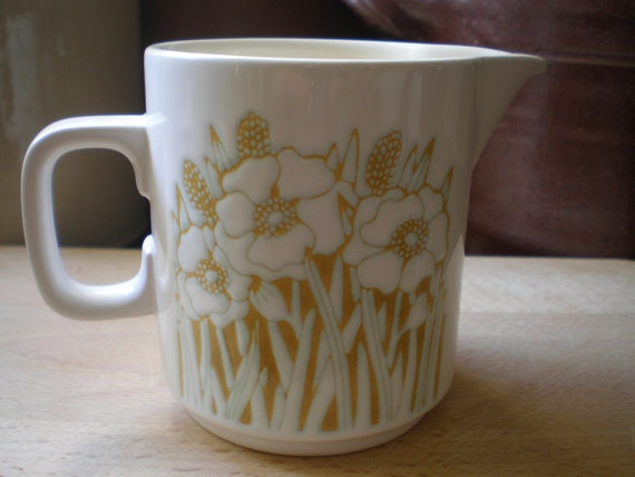 "HORNSEA Pottery 1976 Brown Ceramic Biscuit Jar Pair Retro ""Bronte ..."