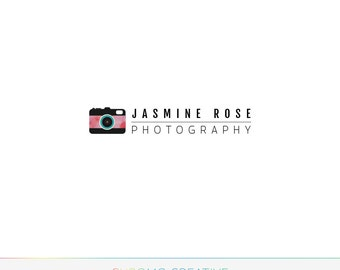 Professional Premade Photography Logo - Watermark for Photographer - Modern