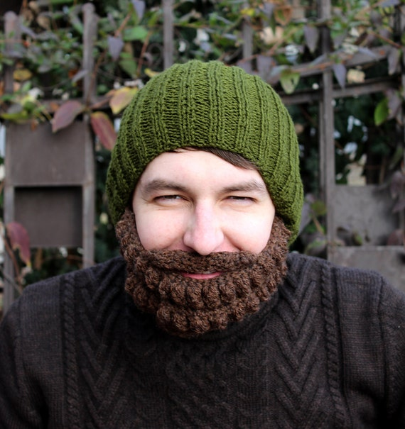 Crochet Dwarf Beard Hat Pattern : PATTERN Crochet beanie Dwarf and beard by CrochetLaboratory