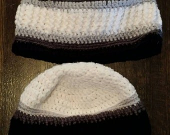 "Hidden Love hats- pair, 19""-21"", 22""-24""."