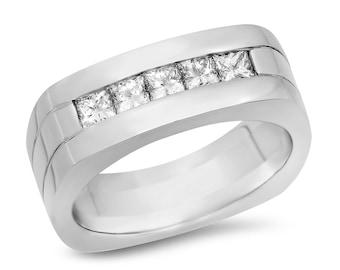 Mens Diamond Ring .80 ct. tw.
