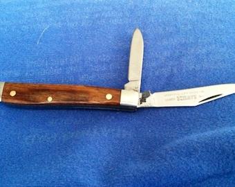 Vintage Small Peanut Queen Cutlery Pocket Knife NOS
