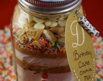 Birthday Cake Cookie Mix - Mason Jar Cookie Mix