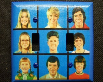 Light Switch Cover Brady Bunch Print