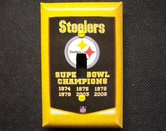Light Switch Cover Pittsburgh Steelers Print