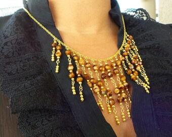 Tiger Eye necklace X
