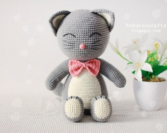 Pattern: Crochet Cat Doll