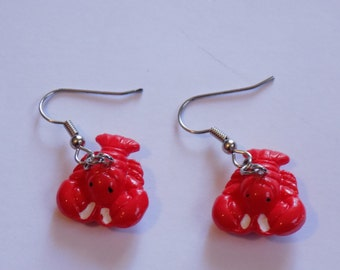Lobster Earrings - 3 Different Syles to Choose From