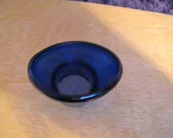 Vintage Blue glass Optrex Eyebath