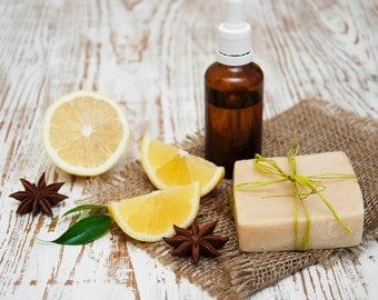 Essential Oil  Synergy Blend Shea Butter Soap