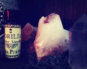 Vanilla Perfume Oil-Golden Vanilla Perfume Oil-Amber-Cardamom- tonka Bean-Patchouli